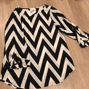 Chevron dress shirt
